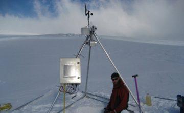 Energy balance over snow and ice